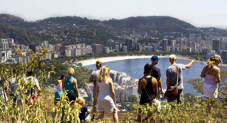 Rio by Bike Favela Tour View