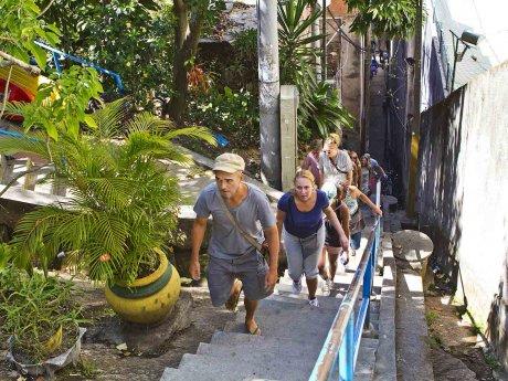 Rio by Bike Favela Tour Chapeu Mangueira